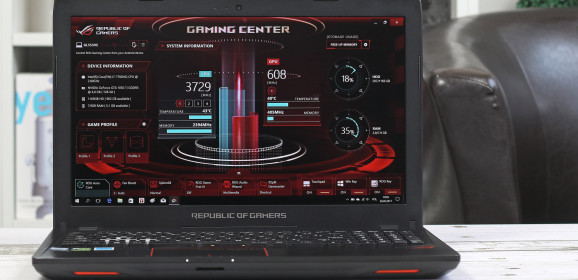 Wideotest ASUS ROG Strix GL553VE. Gamingowy laptop z GTX 1050 Ti